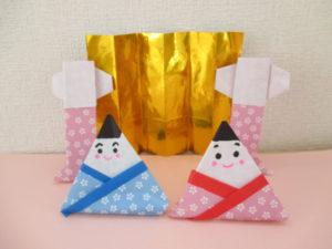 折り紙で金屏風の折り方、2種類。ひな祭りの3月の飾り付けに簡単に子供でも手作り(製作)できるよ♪