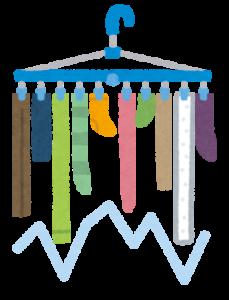洗濯物を早く乾かす方法。簡単に出来るちょっとしたコツとは?