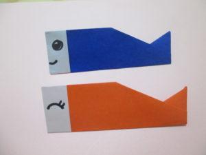折り紙で鯉のぼりの折り方。ポールも作って飾ってみよう♪