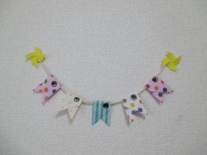 折り紙でガーランドの作り方。可愛い鯉のぼりを飾ってみよう♪