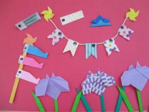 5月の折り紙。こどもの日に簡単可愛く作ってみよう♪