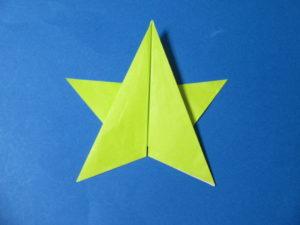 折り紙で星の折り方。折り紙一枚で簡単に作ってみよう♪