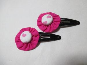 ヘアピンの作り方。簡単にかわいいお花を作ってみよう♪