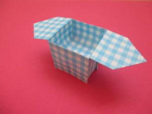 折り紙で三方の折り方。お月見のお供え物や小物入れにも♪