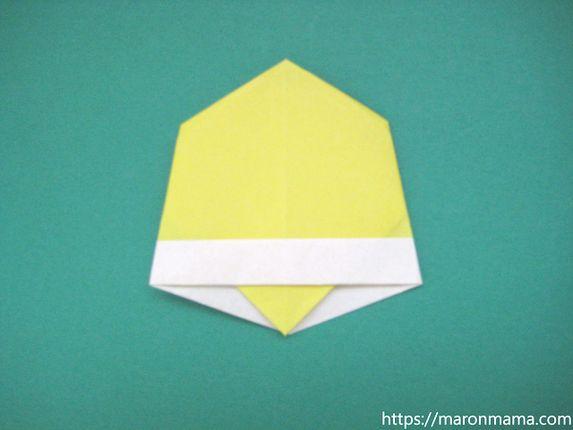 ベルの折り紙の簡単な折り方。平面のかわいいクリスマスベルの折り方♪幼児にもオススメ!