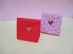 折り紙で箱の作り方。可愛いラッピング袋を作ってみよう♪
