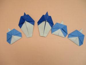 五人囃子の折り紙の作り方。簡単にひな祭りの雛人形の折り方2種類。3月の製作に幼児の保育にもオススメ!
