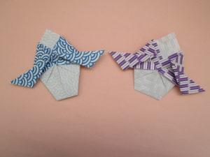 右大臣と左大臣の折り紙の折り方。簡単に3月のかわいいお雛様の壁面飾りを子どもでも作れます♪